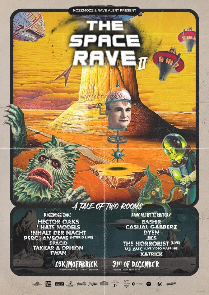 The Space Rave II - Tue 31-12-19, Eskimofabriek